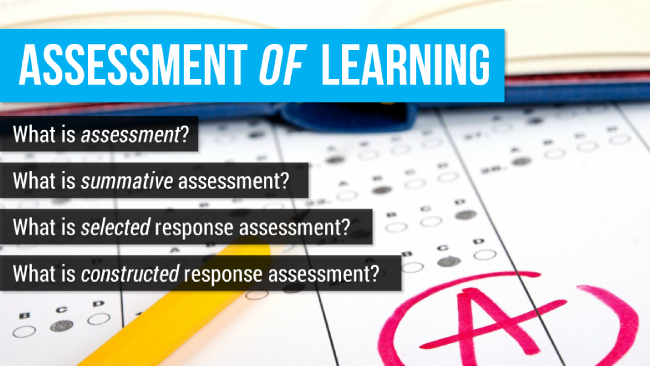 Assessment Strategies Preview 1