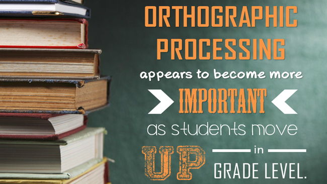 Orthographic Processing  Preview 1