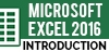 Microsoft Excel 2016: Introduction