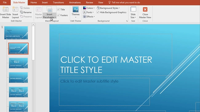Microsoft PowerPoint 2016: Intermediate Preview 1