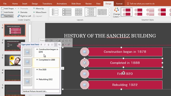 Microsoft PowerPoint 2016: Intermediate Preview 3